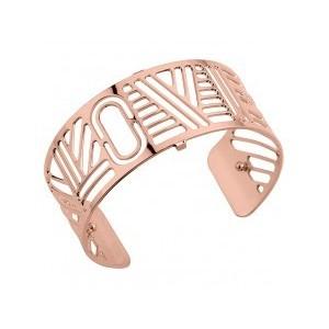 Bracelet Les Georgettes Love 25mm rosé