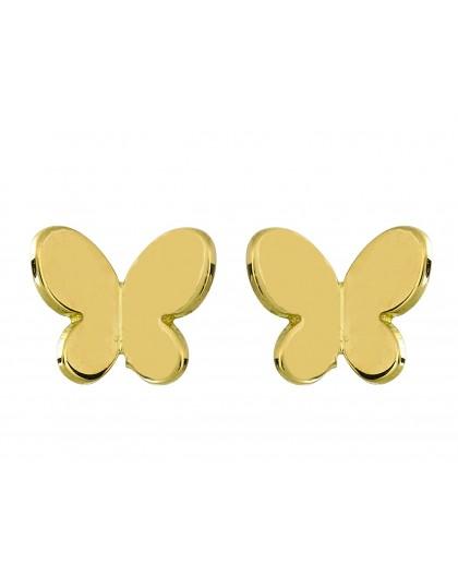 Boucles d'oreilles Or fermoir vis Etoiles glitter