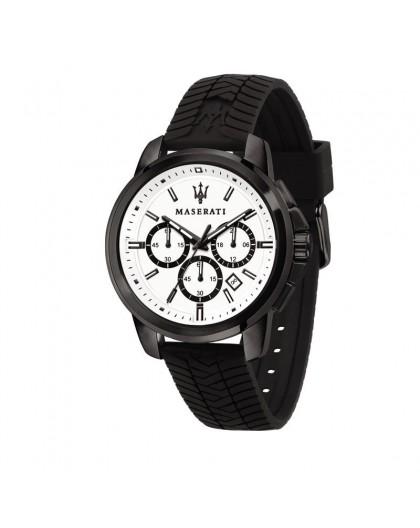 Montre Maserati Successo R8871621010 silicone noir