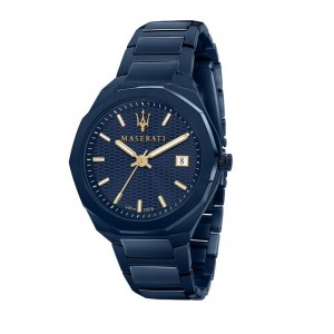 Montre Maserati R8853141001 homme blue edition
