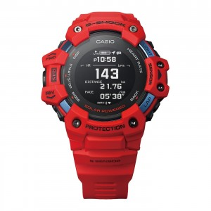Montre G-Shock connectée GBD-H1000-4ER rouge