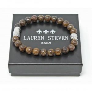Bracelet Lauren Steven Bronzite taille L
