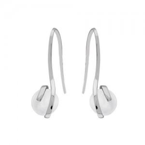 Boucles d'oreilles argent pendantes