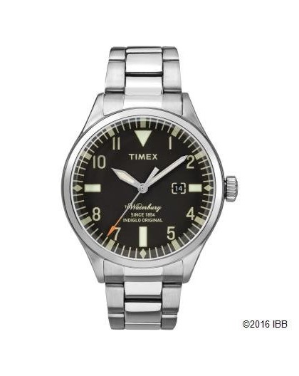 Montre Timex homme TW2R25100D7 tout acier