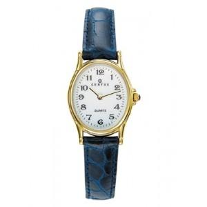 Montre Certus femme 646642 cuir bleu