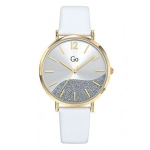 Montre GO Girl only 699328 strass cuir blanc