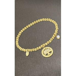 Bracelet Lotus style acier LS2172-2/5 arbre de vie