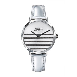 Montre Jean Paul Gaultier 8505607 cuir brillant