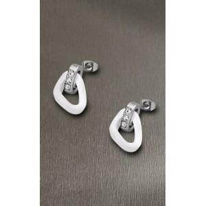 Boucles oreilles Lotus style LS1609-4/1 céramique