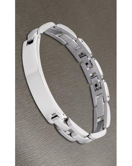 Bracelet Lotus style acier LS1511-2/1 gravable