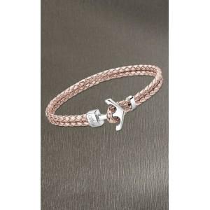 Bracelet Lotus style LS2075-2/4 cuir beige