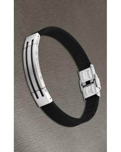 Bracelet Lotus style acier LS1521-2/2 silicone