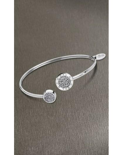 Bracelet Lotus style acier LS1849-2/1 strass