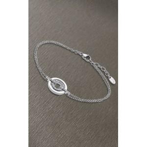 Bracelet Lotus style LS1868-2/1 cercle strass