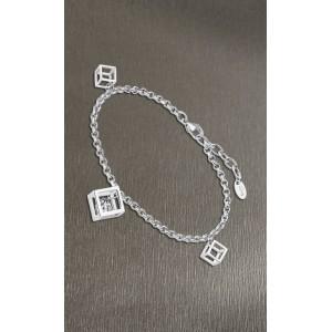 Bracelet Lotus style LS1959-2/1 cube strass