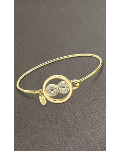 Bracelet Lotus style LS2119-2/3 infini doré