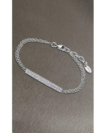 Bracelet Lotus style LS1940-2/1 barrette strass