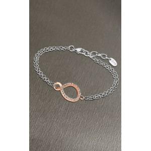 Bracelet Lotus style LS1948-2/2 infini rosé