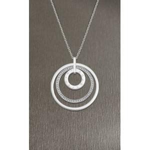 Collier Lotus Style LS2090-1/1 sautoir cercle