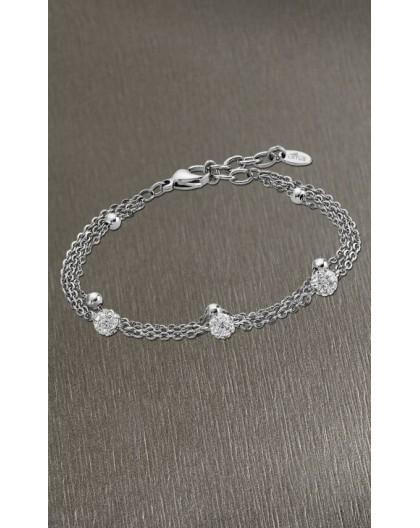 Bracelet Lotus Style LS1776-2/1 boules strass