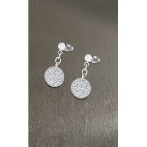 Boucles oreilles Lotus style LS1862-4/1 strass