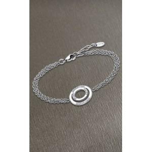 Bracelet Lotus style LS1883-2/1 double cercle