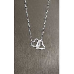 Collier Lotus Style LS1912-1/1 double coeur