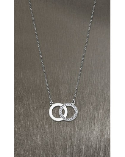 Collier Lotus Style LS1913-1/1 double cercle