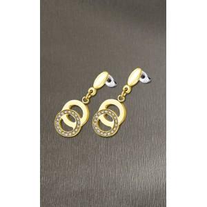 Boucles oreilles Lotus style LS1913-4/3 cercles