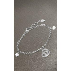 Bracelet Lotus style LS1942-2/1 coeur pampille