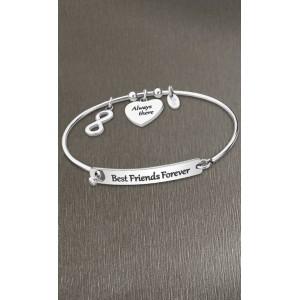 Bracelet jonc Lotus style LS2017-2/5 BFF friends