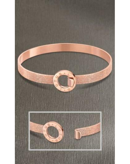Bracelet jonc Lotus style LS2080-2/3 glitter rosé