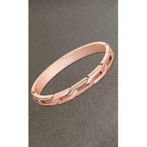 Bracelet Lotus style LS2114-2/1 rosé chevrons