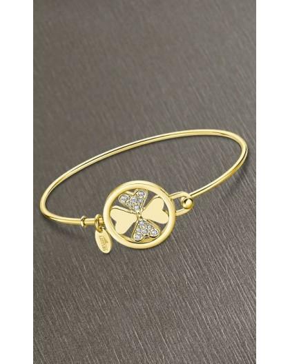 Bracelet Lotus style LS2119-2/1 trèfle doré