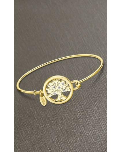 Bracelet Lotus style LS2119-2/3 arbre de vie doré