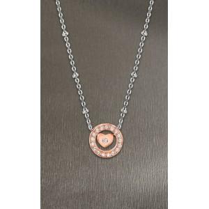 Collier Lotus Style LS2125-1/3 coeur rosé