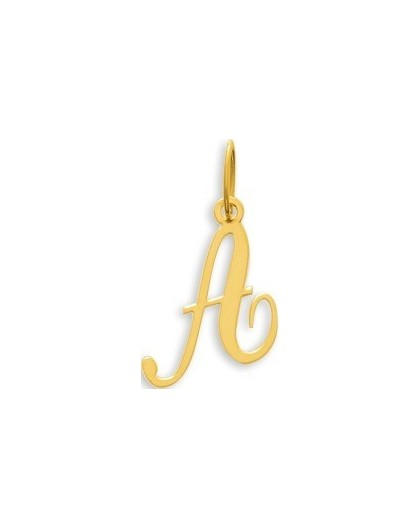 Pendentif Or initiale lettre A