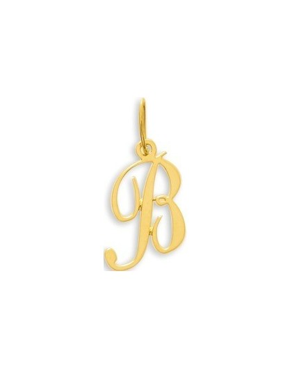 Pendentif Or initiale lettre B