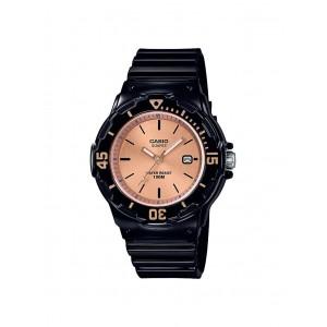 Montre Casio LRW-200H-9E2VEF PU noir femme