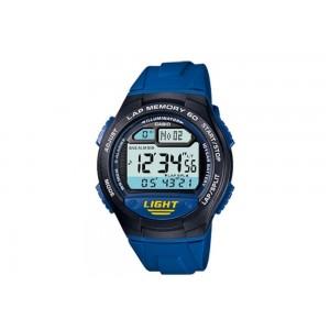 Montre Casio W-734-2AVEF PU Bleu
