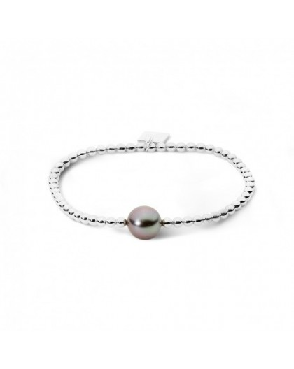 Bracelet IzaB Archipel perle de Tahiti extensible