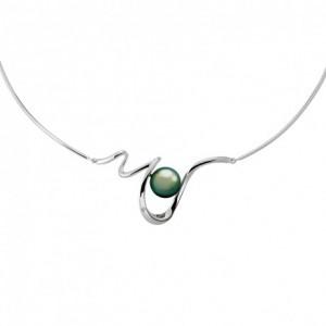 Collier IzaB Lagune perles de tahiti diamant