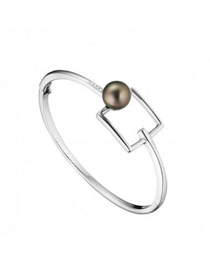 Bracelet jonc IzaB Archipel perle de Tahiti