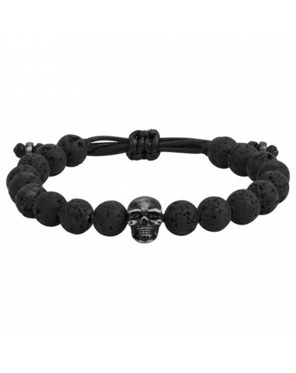 Bracelet Acier Legend pvd et lave