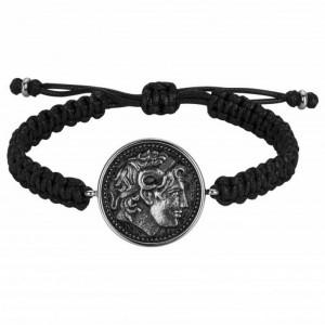 Bracelet Acier Legend laque noire