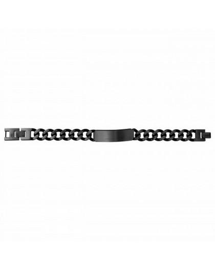 Bracelet Acier Legend pvd noir