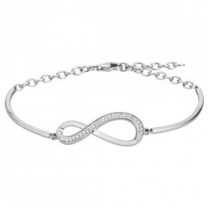 Bracelet Argent motif infini Oz