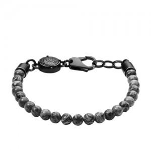 Bracelet Diesel bijoux DX1015001 acier et jaspe