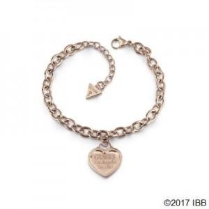 Bracelet Guess UBB28019-S coeur rosé