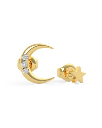 Boucles oreilles Guess UBE29010 lunes strass